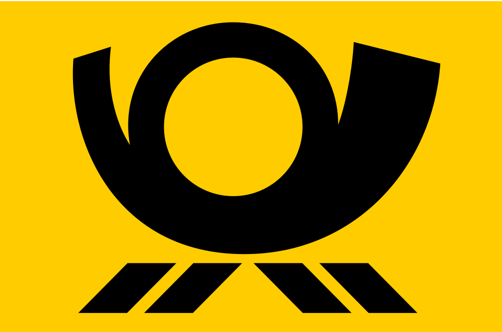 Deutsche post horn svg